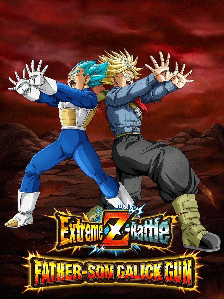 Extreme Z-Battle: Father-Son Galick Gun