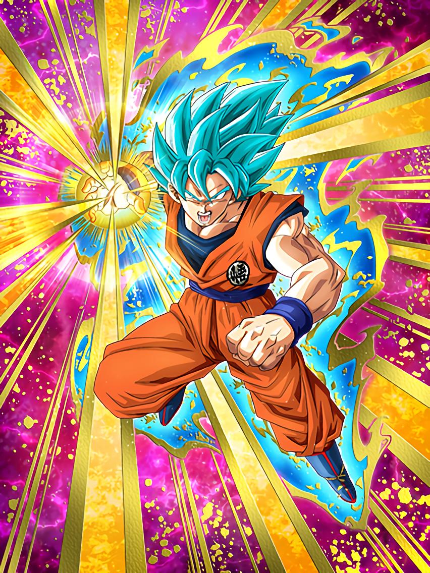 Drive to Win Super Saiyan God SS Goku