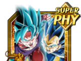 Beyond Boundless Power Super Saiyan God SS Goku (Kaioken) & Super Saiyan God SS Evolved Vegeta