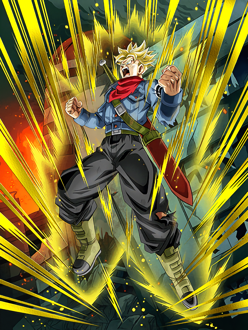 Humanity's Hope Super Saiyan Trunks (Future)
