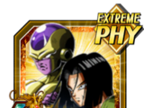 Very Last Possibility Golden Frieza (Angel) & Android 17