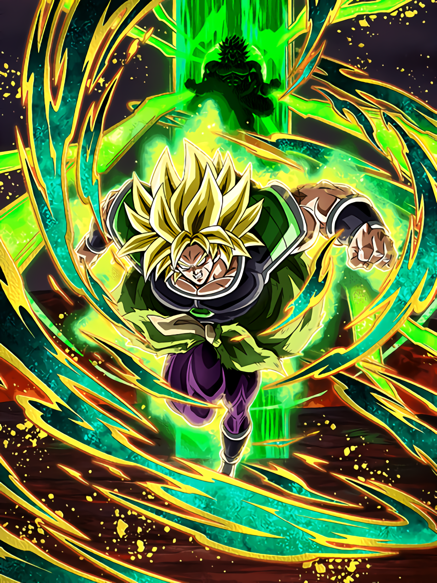 Endless Evolution of the Warrior Race Super Saiyan Broly