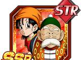 Looking Back on One's Origins Grandpa Gohan & Pan (GT)