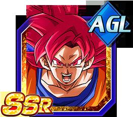 Divine Power Surge Super Saiyan God Goku