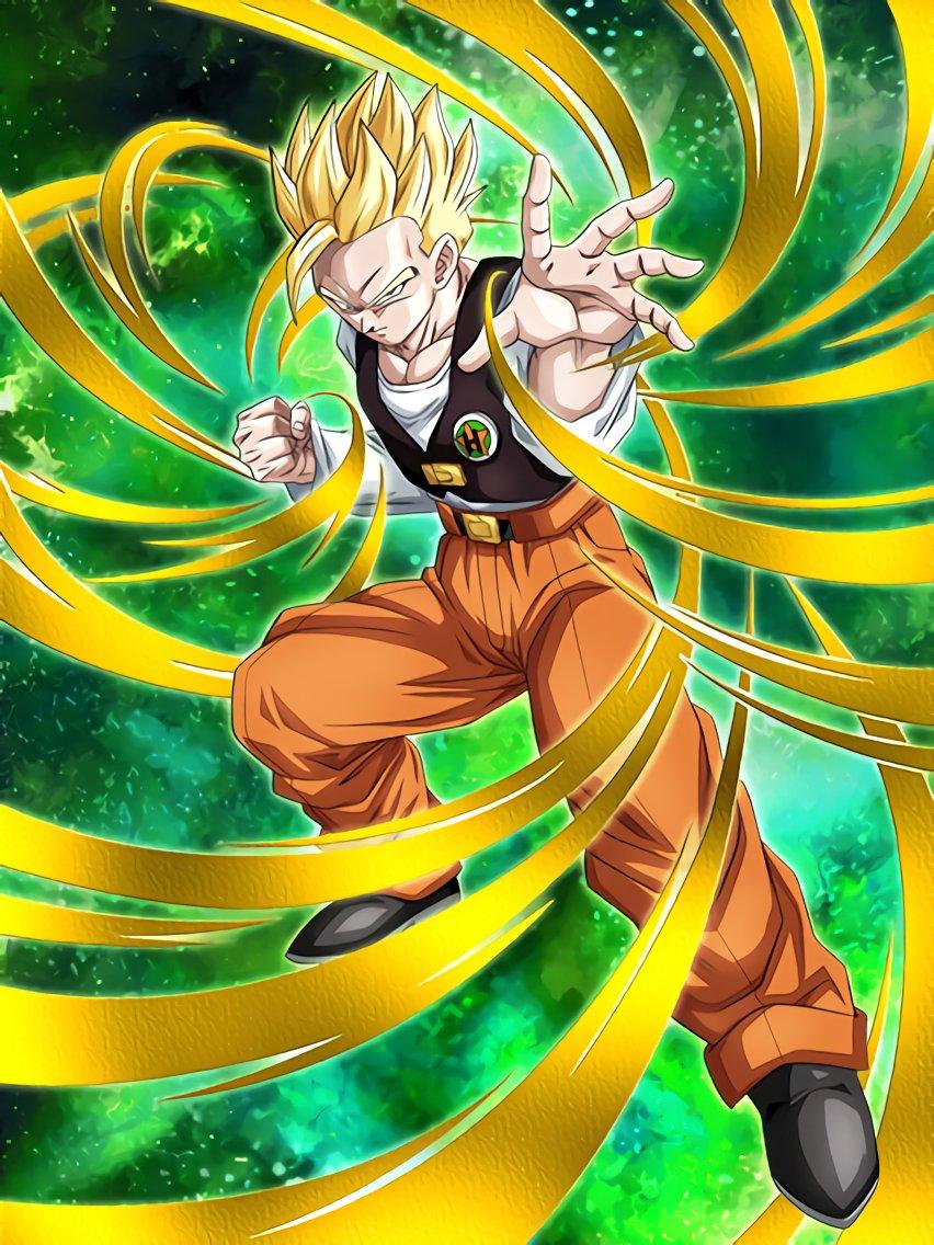 The Spirited Golden Warrior Super Saiyan Gohan (Teen)
