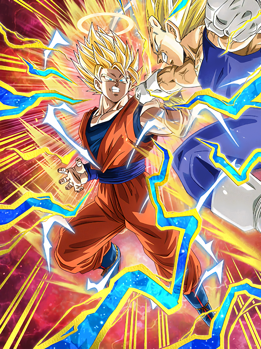 Clashing Tenacity Super Saiyan 2 Goku (Angel)