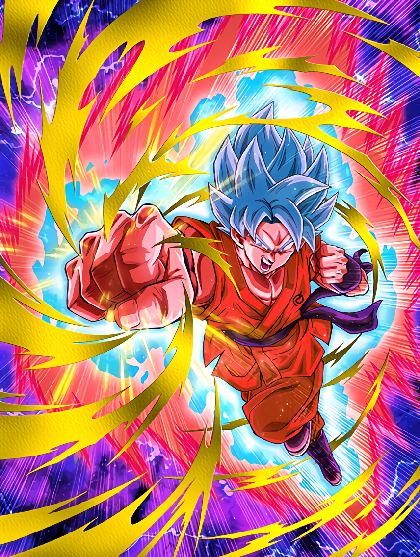 Next-Level Strike Super Saiyan God SS Goku