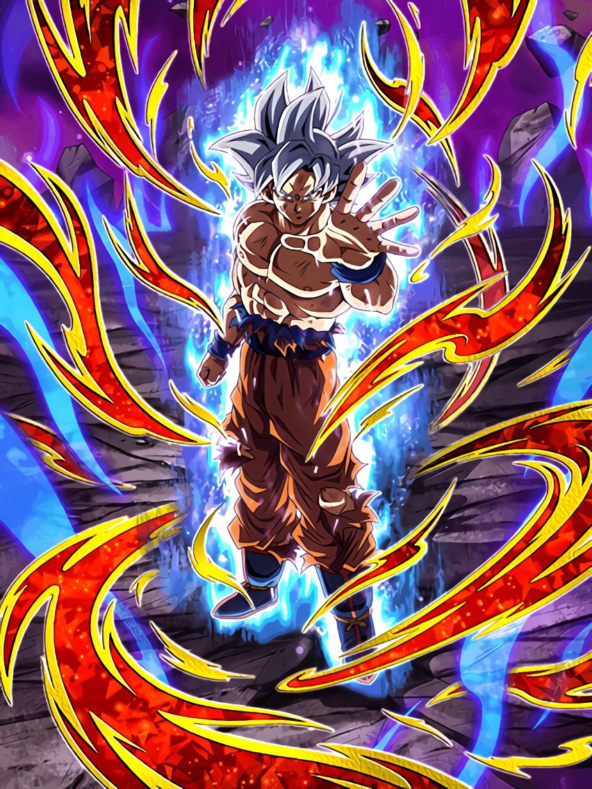 A New Appearance Shining In Silver Goku Ultra Instinct Dragon Ball Z Dokkan Battle Wiki Fandom