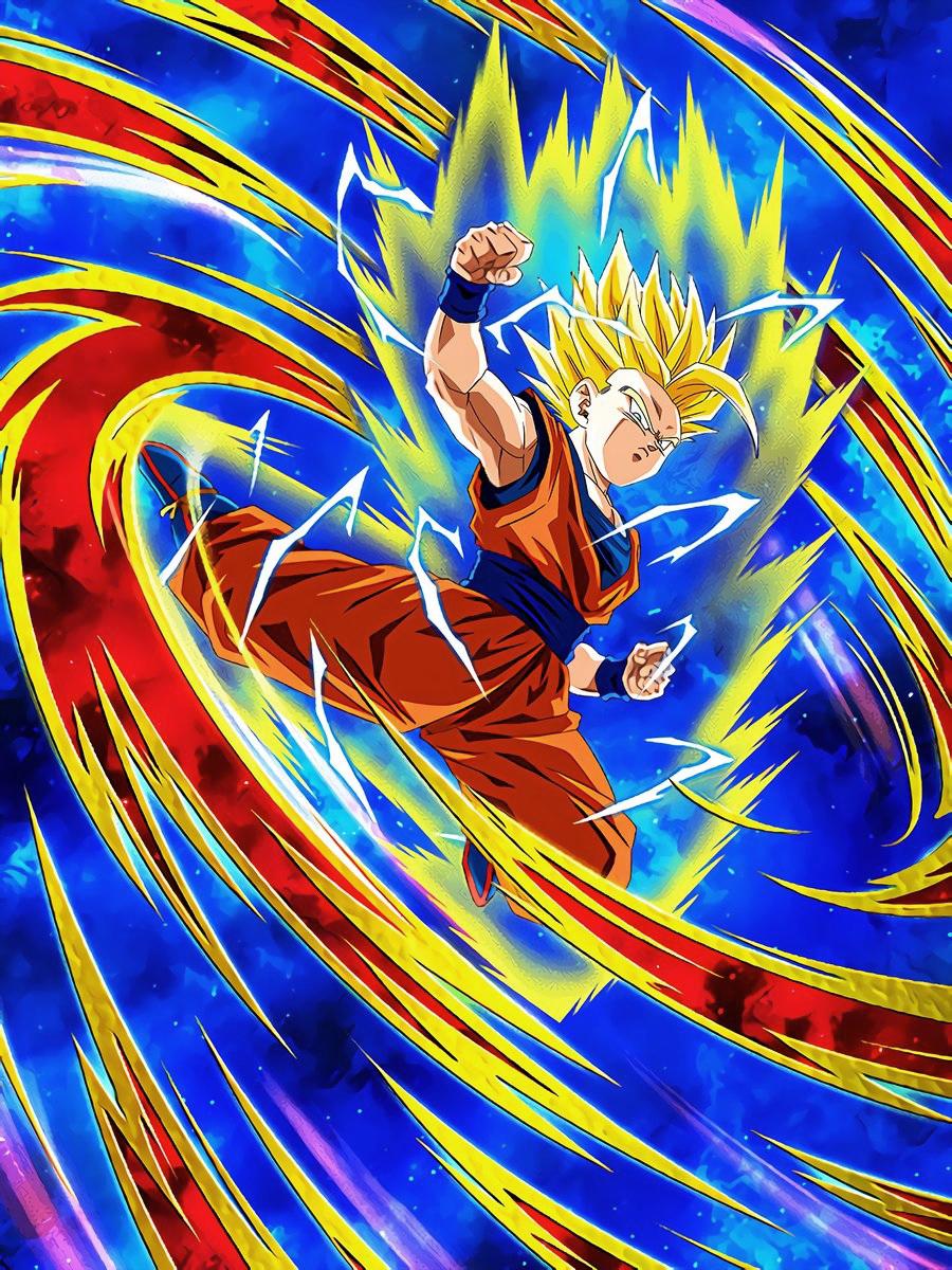 Explosive Rage Super Saiyan 2 Gohan (Youth)