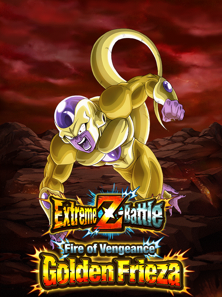 Extreme Z-Battle: Fire of Vengeance Golden Frieza