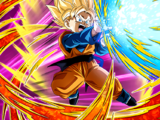 Power in Full Force Super Saiyan Goten (Kid)