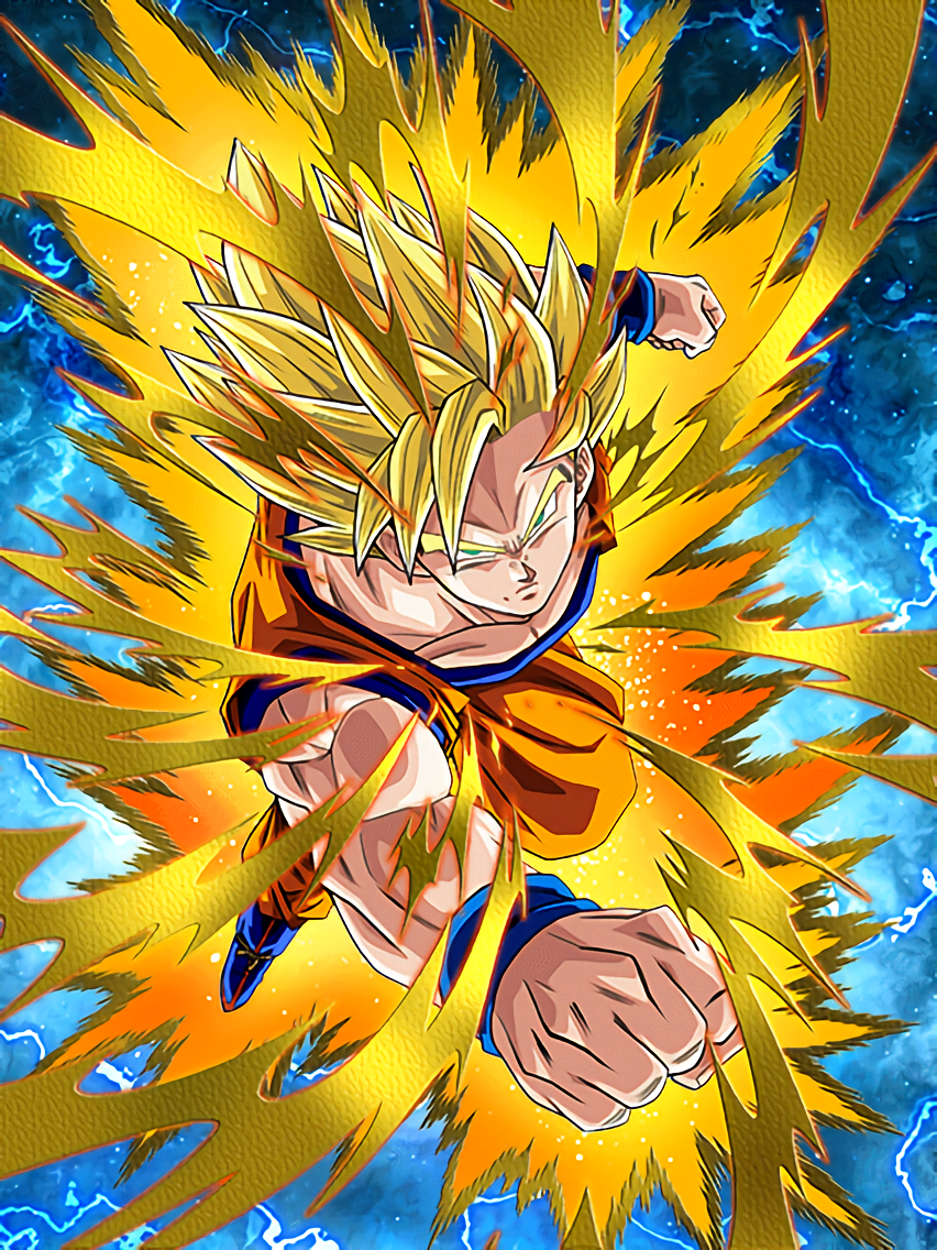 New Challenges Super Saiyan Goku