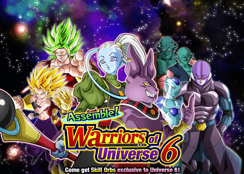 Assemble! Warriors of Universe 6