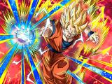 Shattering Strike Super Saiyan 2 Goku