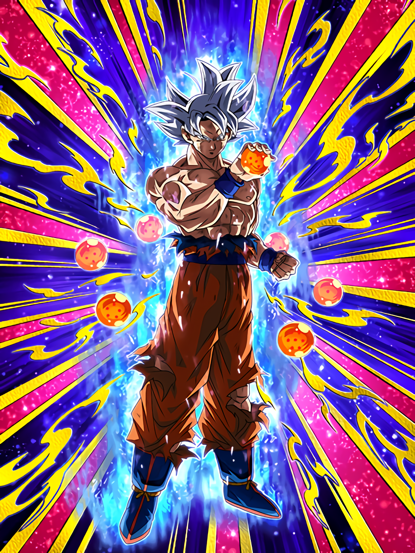 True Instinct Goku Ultra Instinct Dragon Ball Z Dokkan Battle Wiki Fandom