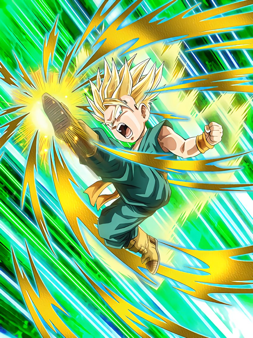 Inborn Pride Super Saiyan Trunks (Kid)