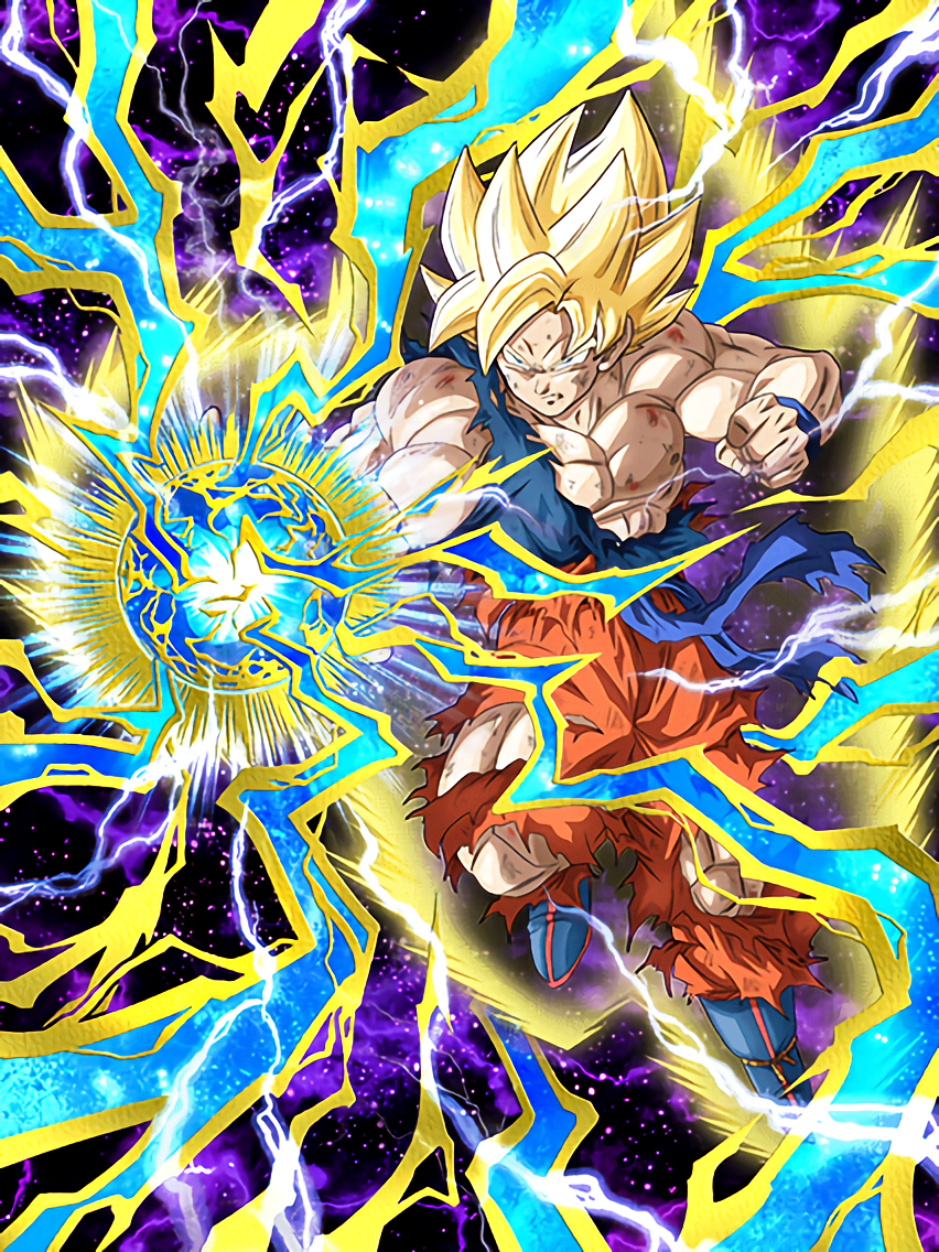 Total Might, Full Power Super Saiyan Goku