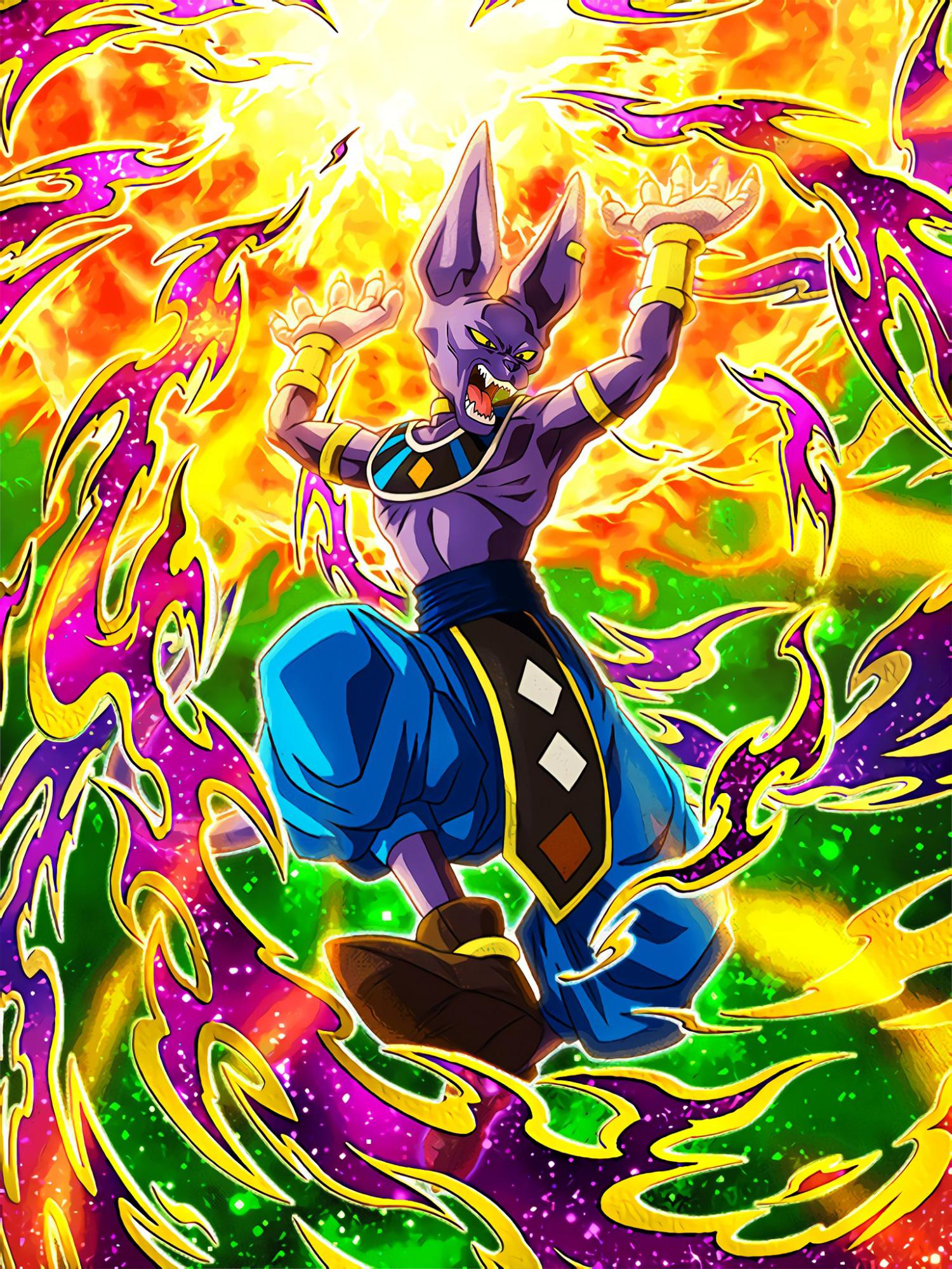 Hot-Blooded God of Destruction Beerus