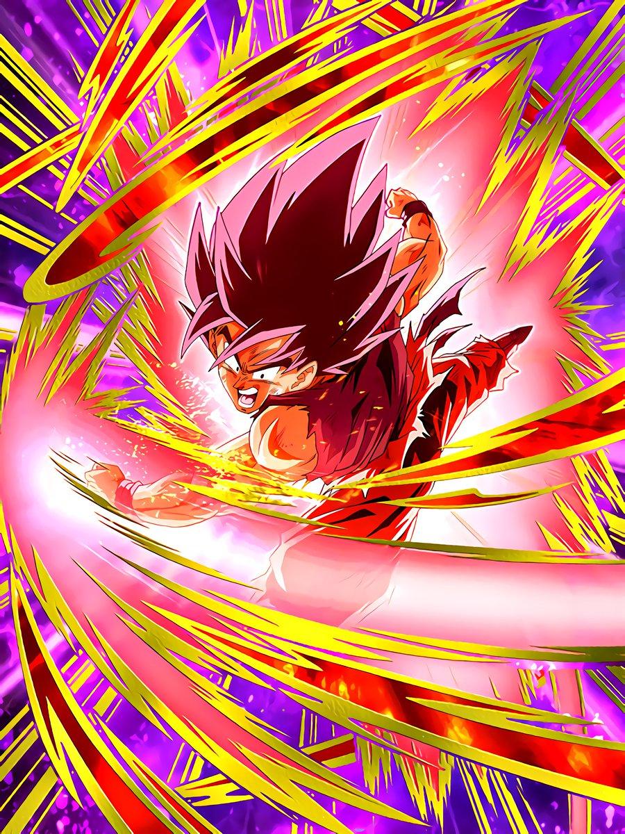 Determined to Fight Goku (Kaioken)