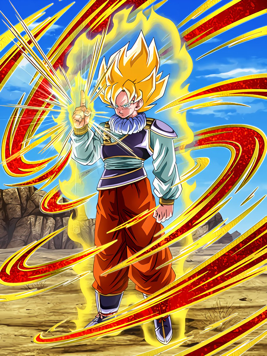 Unwavering Will and Newfound Power Super Saiyan Goku