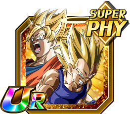 Resurrected Saiyans Super Saiyan Goku (Angel) & Super Saiyan Vegeta (Angel)