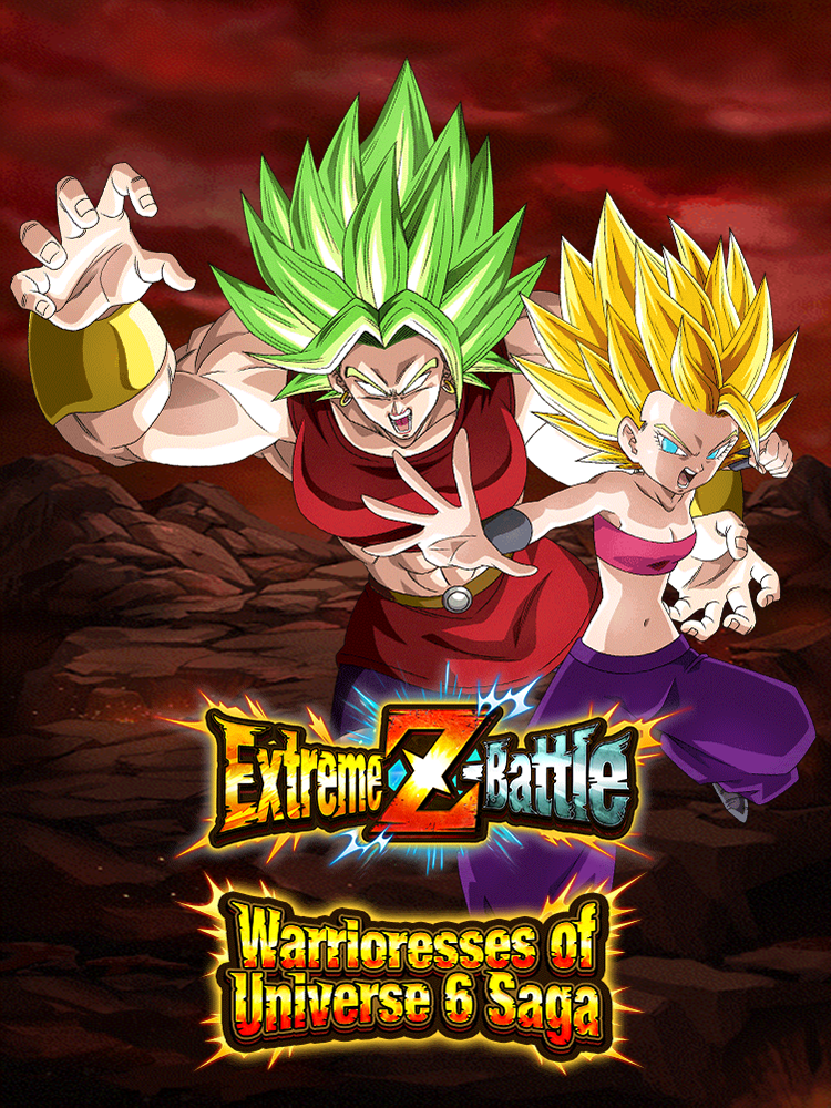 Extreme Z-Battle: Female Warriors of Universe 6 Saga