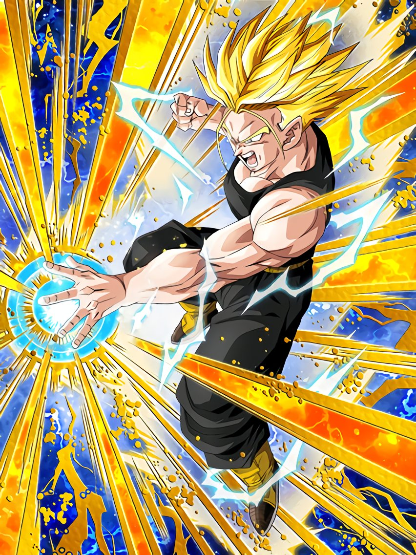 To a New Future Super Saiyan Trunks (Future)