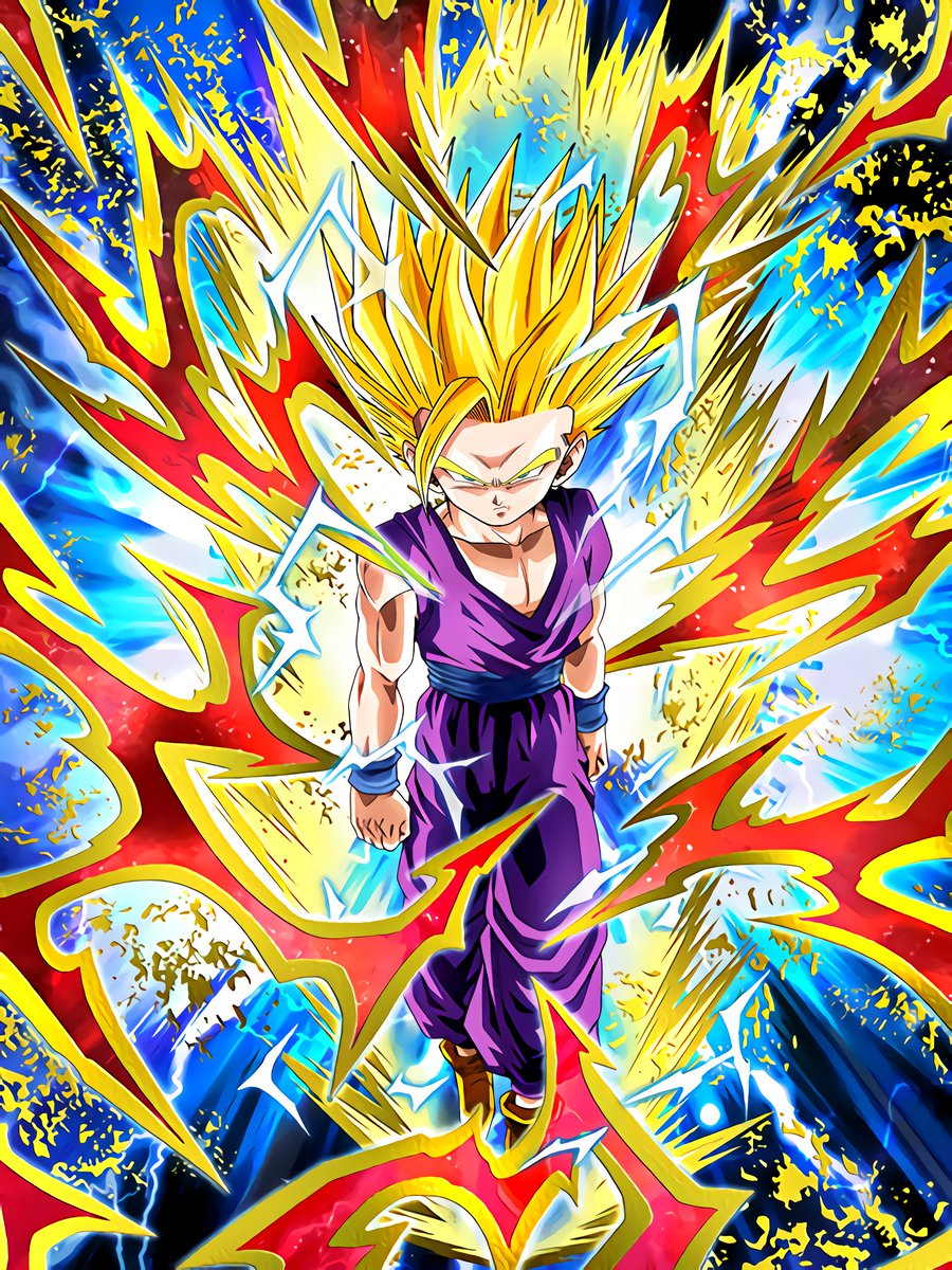 Full-Power Collision Super Saiyan 2 Gohan (Youth)
