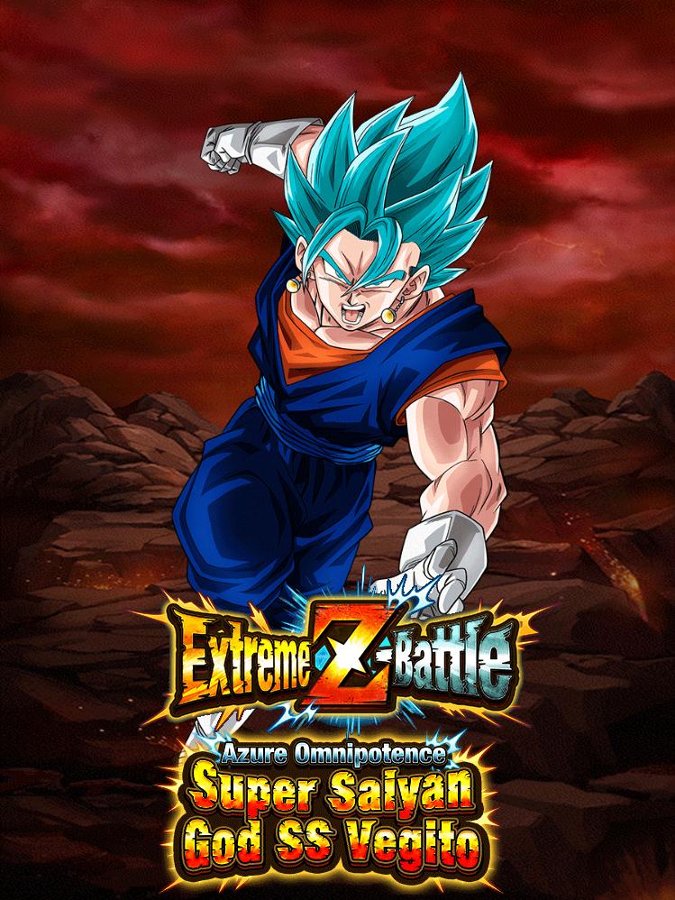 Extreme Z-Battle: Azure Omnipotence Super Saiyan God SS Vegito