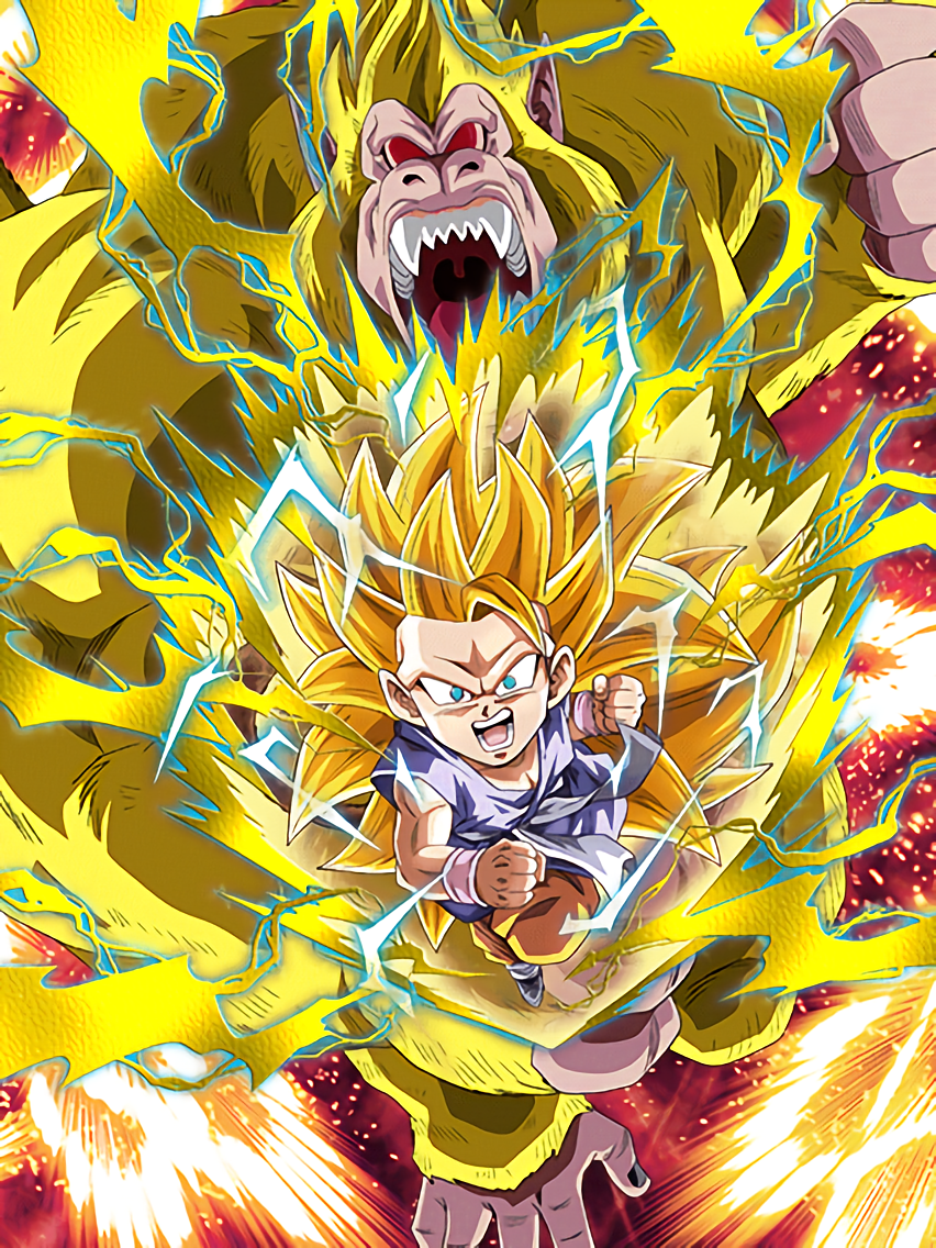 Inklings of Ultimate Power Super Saiyan 3 Goku (GT) (Golden Giant Ape)