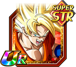 Concentrated Spirit Super Saiyan Goku