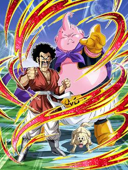 A Friend S Decision Hercule Majin Buu Good Dragon Ball Z Dokkan Battle Wiki Fandom