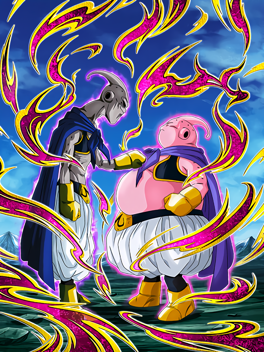 Split Into Good and Evil Majin Buu (Good)/Majin Buu (Pure Evil)