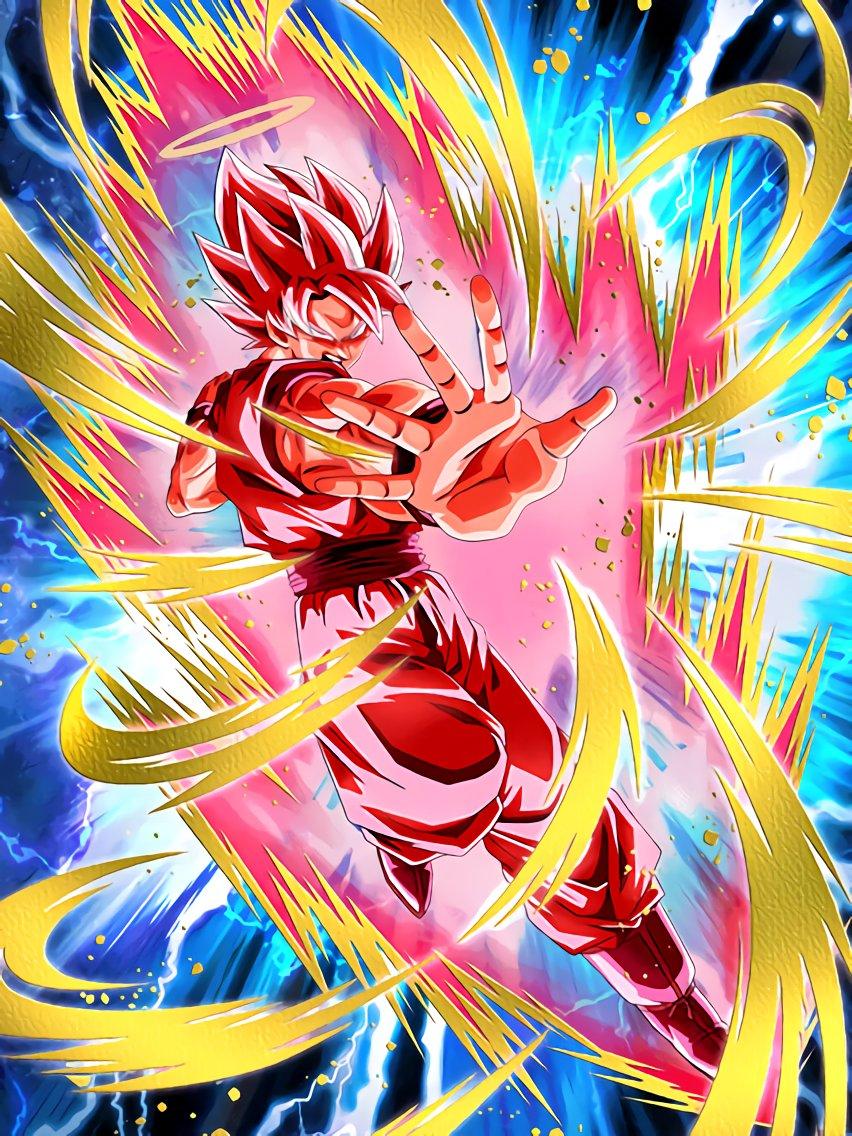 Burning to the Last Super Saiyan Goku (Angel) (Super Kaioken)
