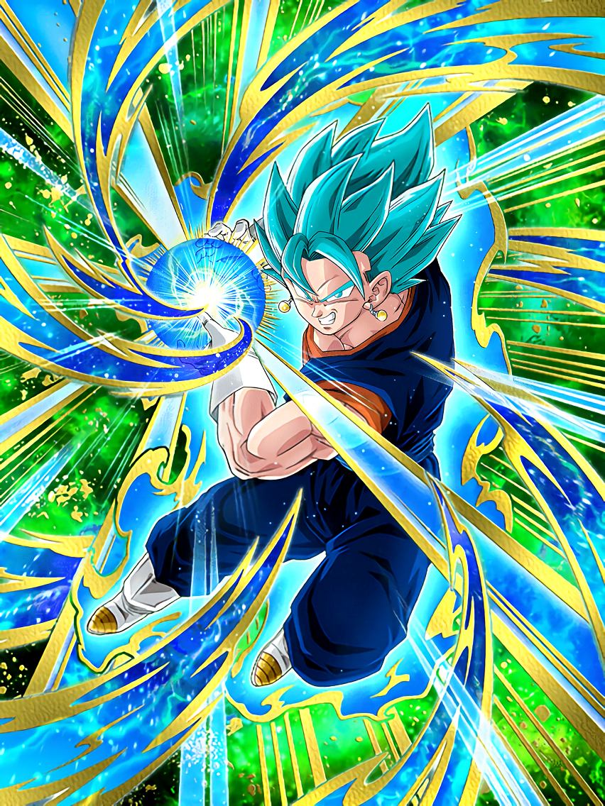 Strength Beyond Gods Super Saiyan God SS Vegito