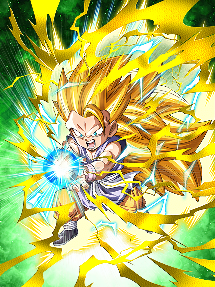 Ultimate Aspiration Super Saiyan 3 Goku (GT)