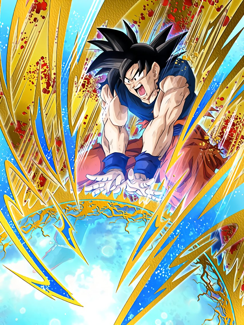 The Hope Of The Universe Goku Dragon Ball Z Dokkan Battle Wiki Fandom