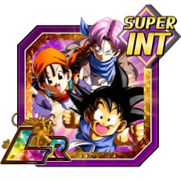 Endless Adventure Goku (GT) & Pan (GT) & Trunks (GT)