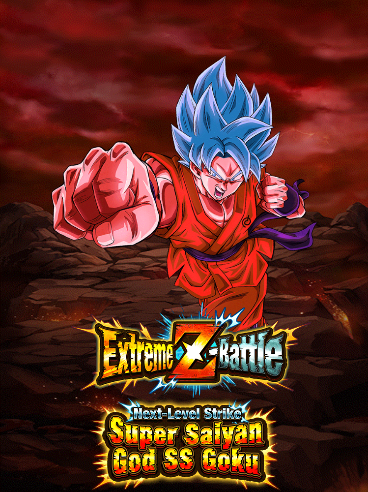 Extreme Z-Battle: Next-Level Strike Super Saiyan God SS Goku