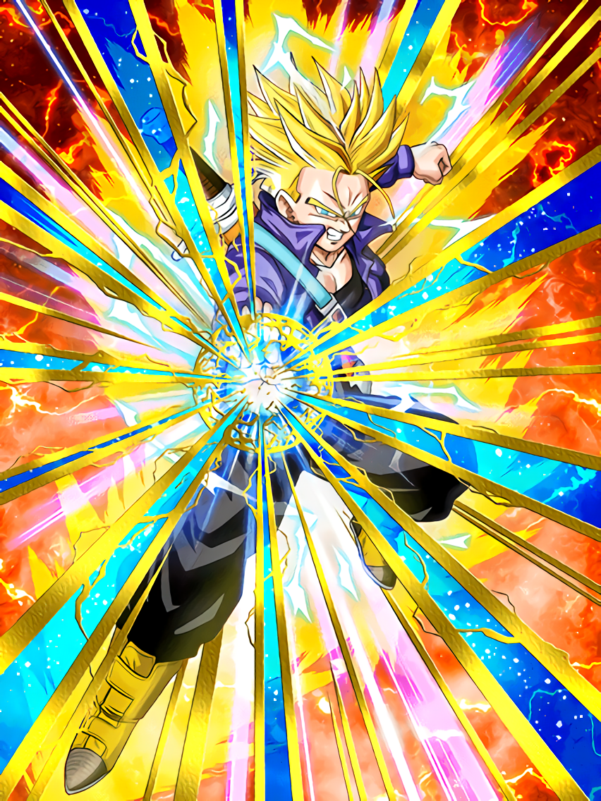 A Meaningful Strike Super Saiyan 2 Trunks (Teen)
