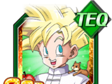 Brief Moment of Relaxation Super Saiyan Gohan (Youth)