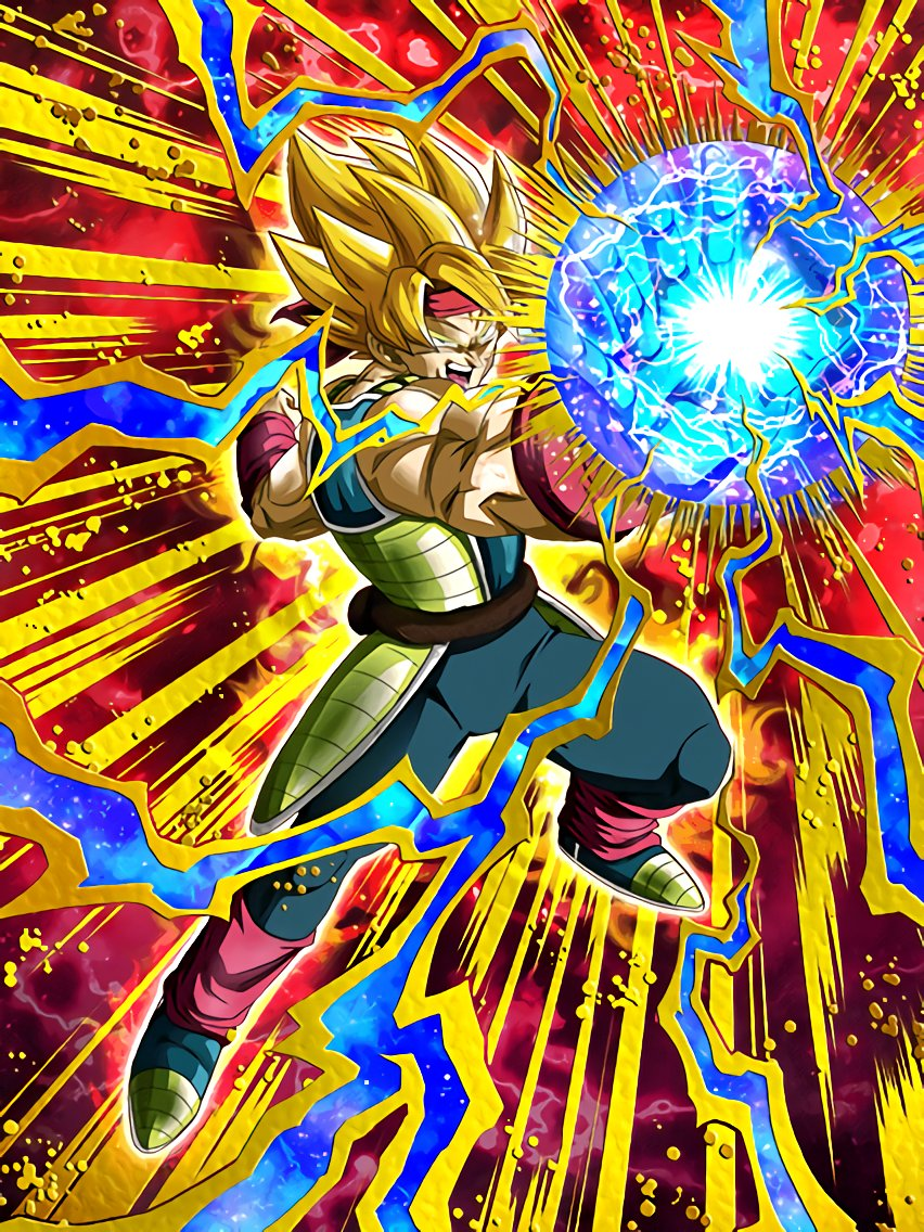 Furious Charge Super Saiyan Bardock