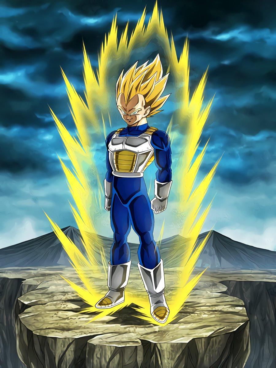 Limitless Combat Power Super Saiyan Vegeta