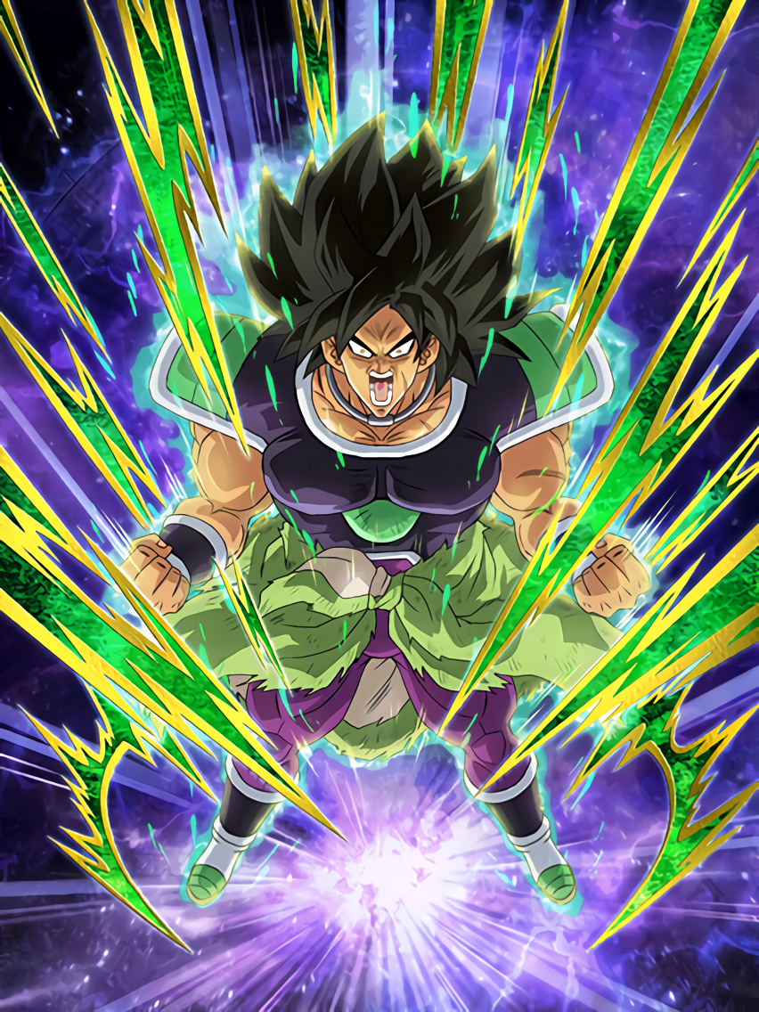 Unusual Evolution Broly (Wrathful)