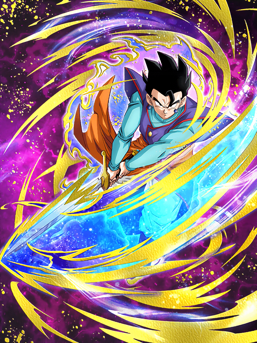 Birth of a Hero Gohan (Teen)