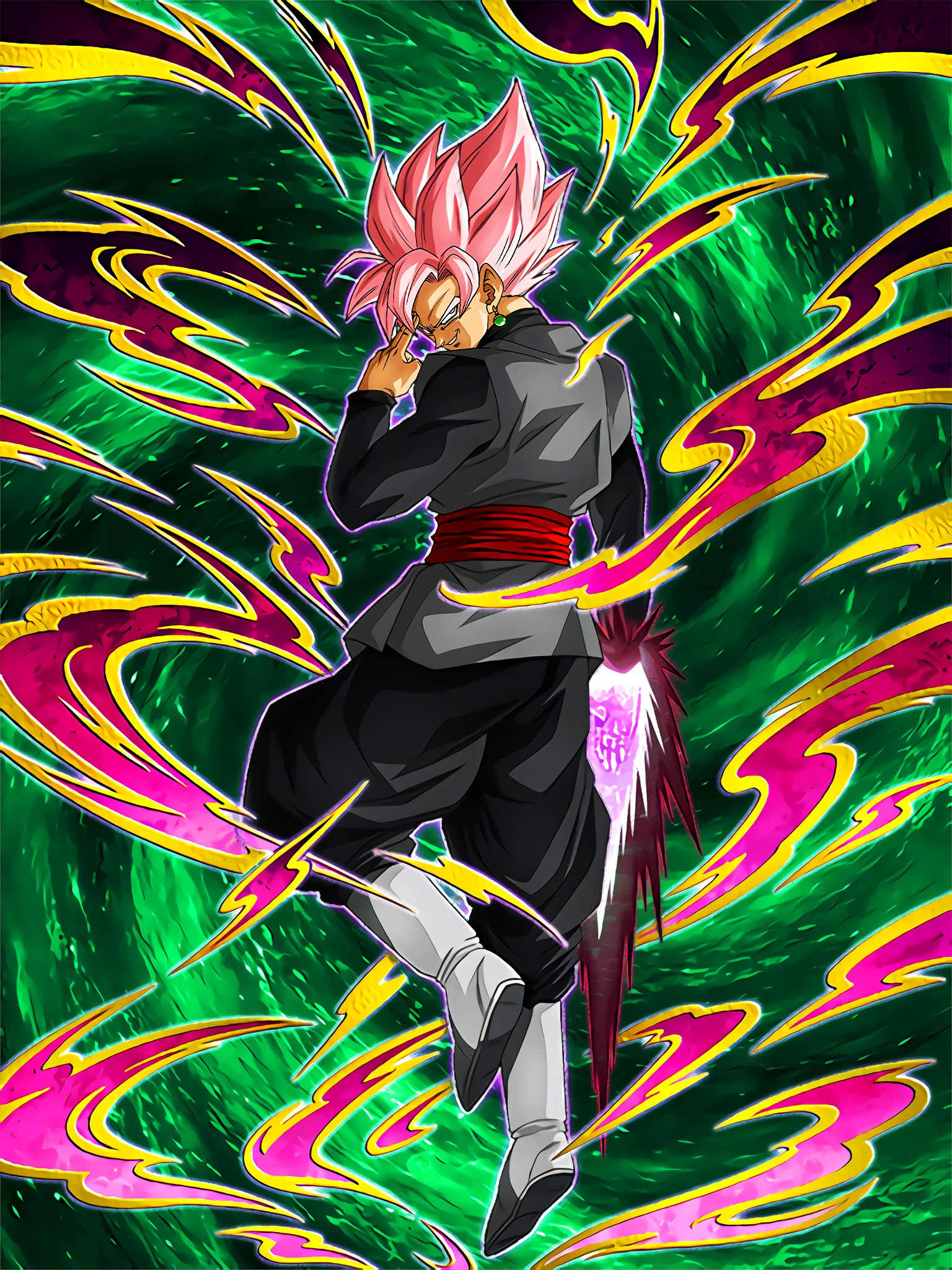 Desire for New Power Goku Black (Super Saiyan Rosé)