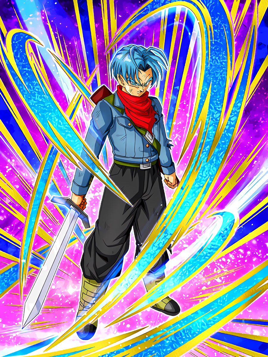Resilient Will to Protect the Future Trunks (Teen) (Future)