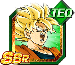 Intensifying Battle Super Saiyan Goku
