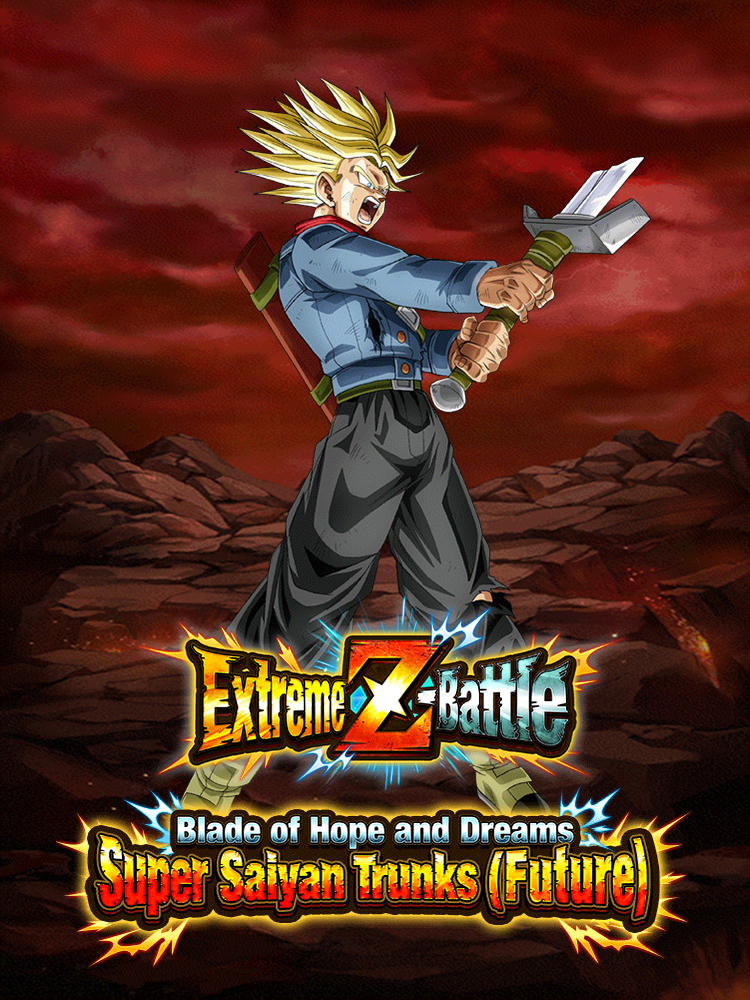 Extreme Z-Battle: Blade of Hope and Dreams Super Saiyan Trunks (Future)
