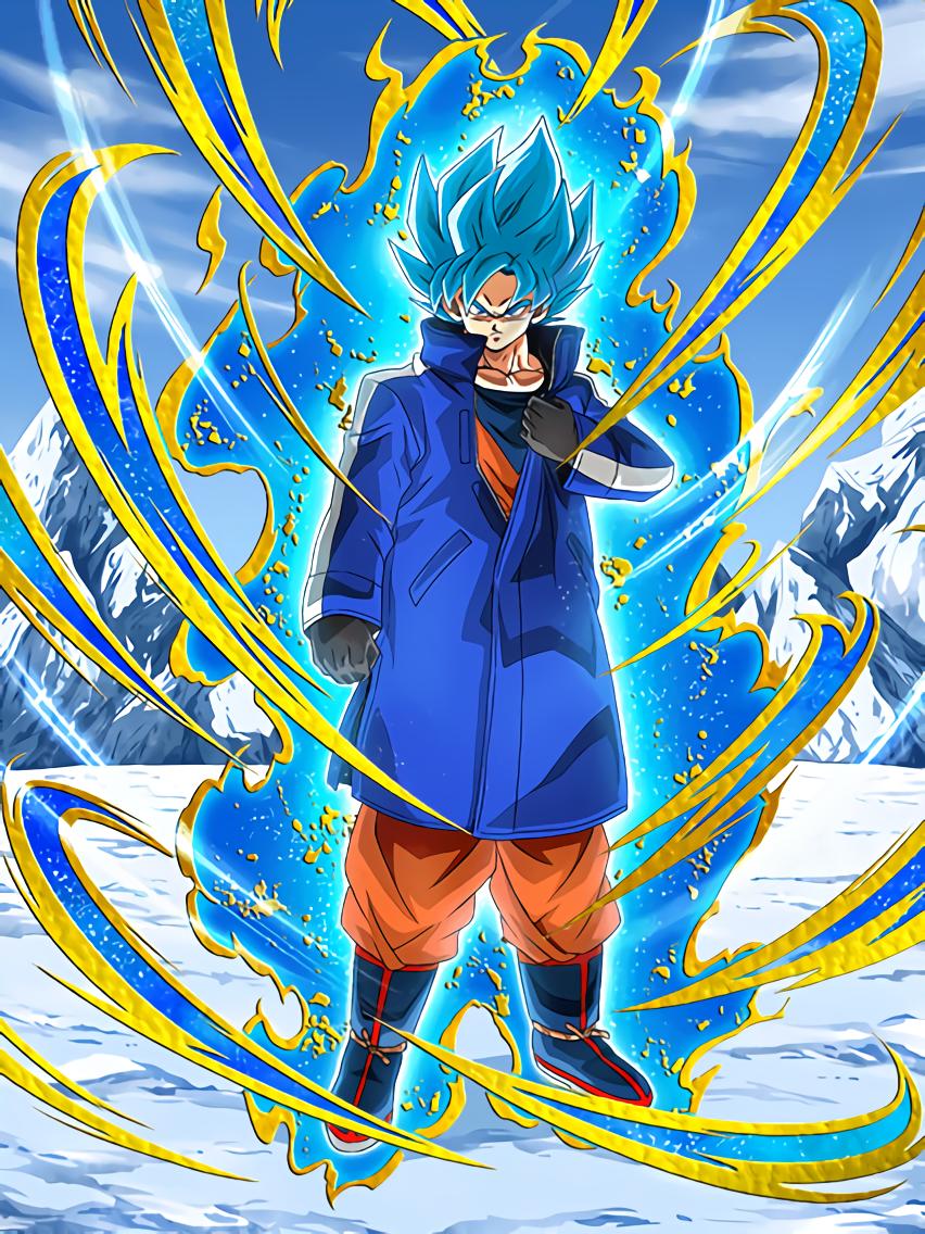 Becoming a Furious God Super Saiyan God SS Goku